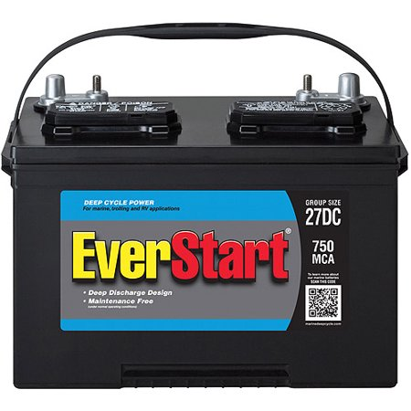 Everstart Marine Battery Group Size 27dc