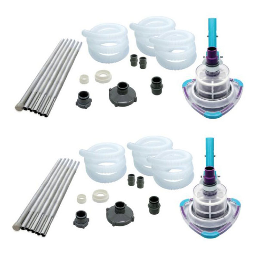 Kokido V-TRAP Vac Soft Sided Swimming Pool Vacuum Cleaner System (2 Pack)
