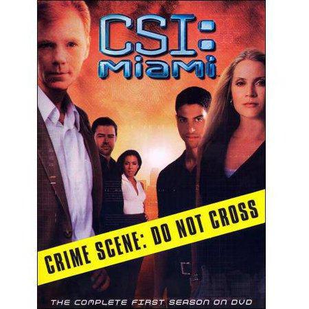 Csi  Miami  The Complete First Season  Widescreen