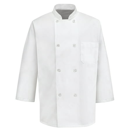Men's ¾ Sleeve Chef Coat (Chefs Coat)