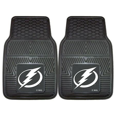 "Tampa Bay Lightning 2-pc Vinyl Car Mats 17""x27"""