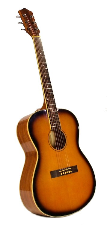 """40"""" Inch Full Size Sunburst Handcrafted Steel String Dreadnought Acoustic Guitar by"""