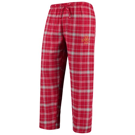 Iowa State Cyclones Concepts Sport College Ultimate Flannel Pants - Cardinal