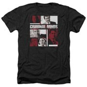 Criminal Minds Character Boxes Mens Heather Shirt