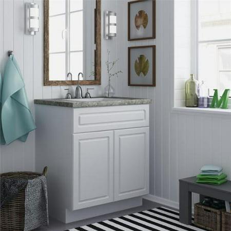 Altra White Stipple 30 Inch Bath Vanity Cabinet