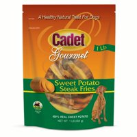 Cadet Premium Gourmet Steak Fries Dog Treats Sweet Potato 16 oz.