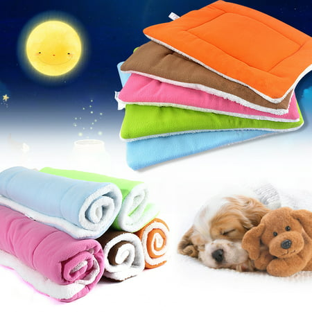 Pet Dog Cat Bed Cushion Mat Pad Kennel Crate Cozy Warm Soft House S M L XL Size