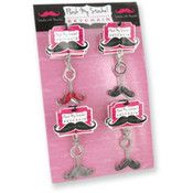 Ddi Flash My Stache! Key Chains