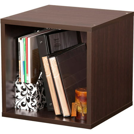 - Foremost Groups Open Storage Cube, Espresso