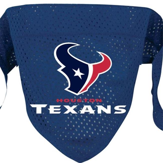 DoggieNation 716298009860 Large Houston Texans Dog Bandana