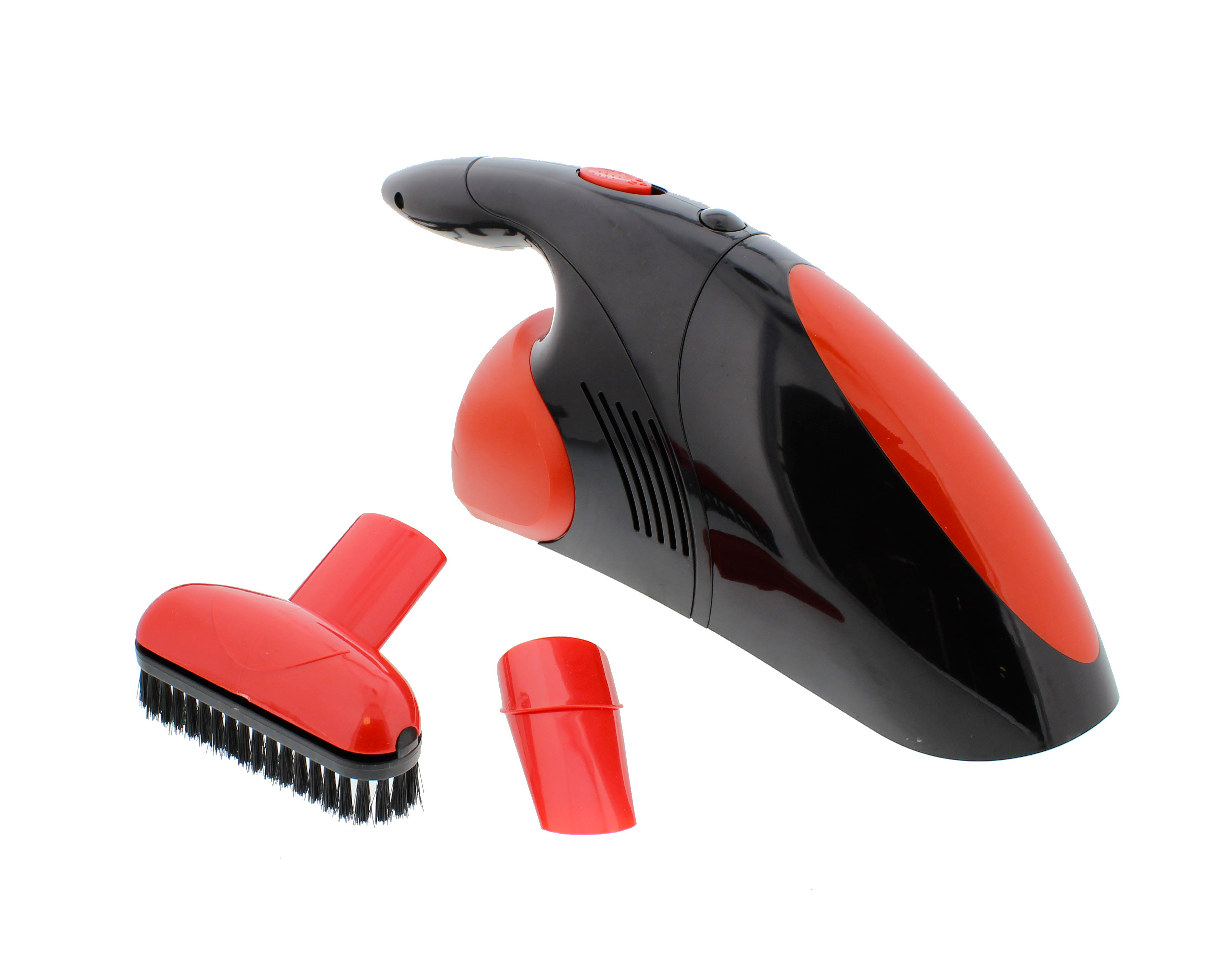 ABN Car Vacuum Cleaner, 12V, Compact with Brush & Narrow Nozzles, Removable Bowl by Auto Body Now