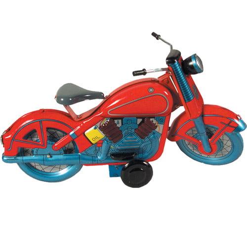 Alexander Taron Collectible Tin Toy Motor Cycle