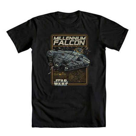 Mighty Fine Star Wars Millenium Falcon T-Shirt - Large