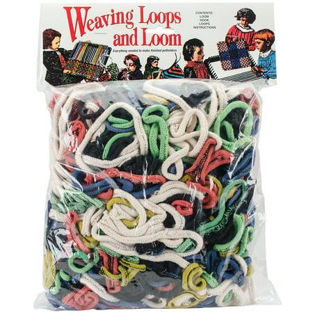 Weaving Loops - Wool Novelty Weaving Loops & Loom
