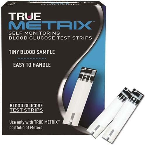 True Metrix Self Monitoring Blood Glucose Test Strip 100 count Each