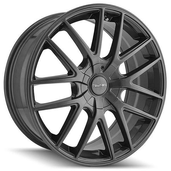 "18"" Inch Touren 3260 TR60 18x8 5x127(5x5"") +40mm Gunmetal Wheel Rim"