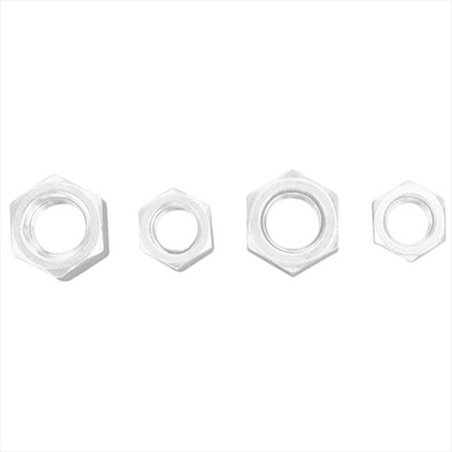 TekSupply FALF35 Lock Nuts Stainless Steel and Zinc Plated