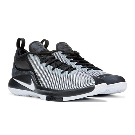 timeless design 9ead1 92cc4 Nike - Nike Men s LeBron Witness II Basketball Shoe Black White 11.5 ...