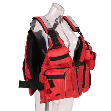 Adult Detachable Aid Sailing Kayak Canoeing Fishing Vest - image 3 of 7