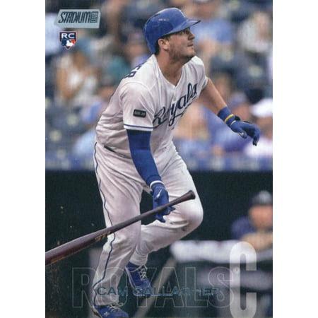 2018 Topps Stadium Club #100 Cam Gallagher Kansas City Royals Rookie Baseball Card - *GOTBASEBALLCARDS ()