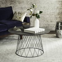 "Safavieh Roe 31.5"" Round Retro Mid Century Coffee Table, Multiple Colors"