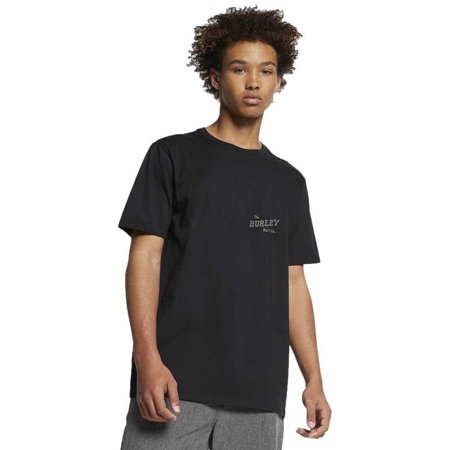 Mens Hurley (Black) Prm Slippin SS Tee 2XL Hurley Kids Clothing