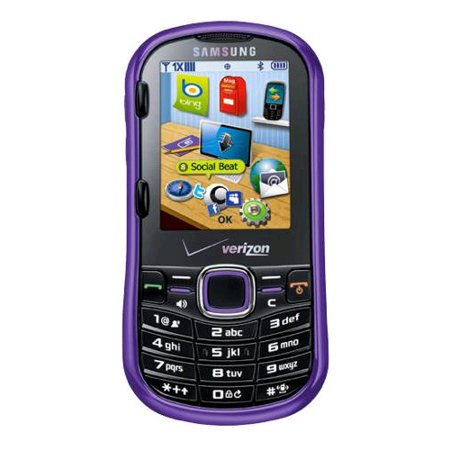 - Samsung Intensity U460 2 Replica Dummy Phone / Toy Phone (Purple) (Bulk Packaging)