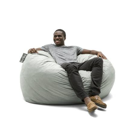 Remarkable Big Joe Large 4 Fuf Bean Bag Chair Multiple Colors Fabrics Machost Co Dining Chair Design Ideas Machostcouk