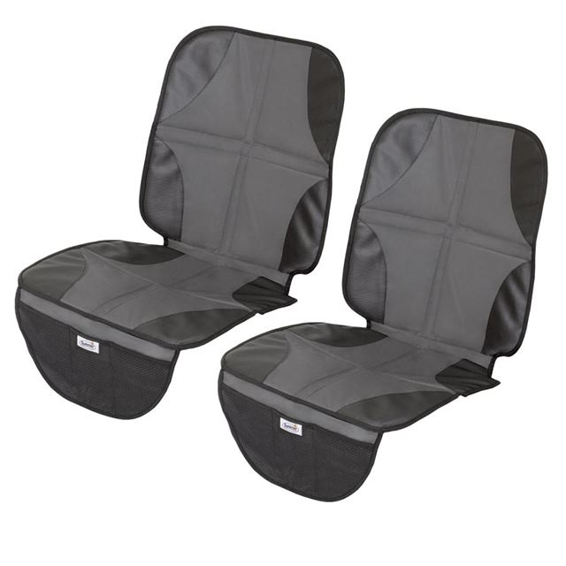 Kiddopotamus by Summer Infant DuoMat Car Seat Mat, 2 Pack