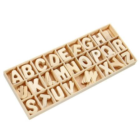 Wooden English Spelling Building Blocks For Kids English Develop Children Gift - image 4 de 8