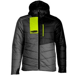 Replacement for PART-F04000400-130-601 509 MEN`S SYN LOFT INSULATED HOODED JACKET - GRAY HI-VIS -