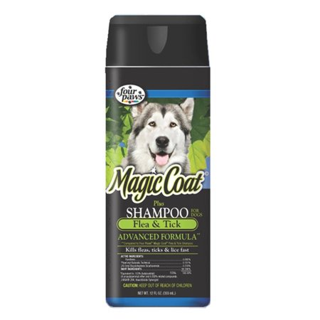 Four Paws Magic Coat Plus Flea and Tick Shampoo - 16 oz.