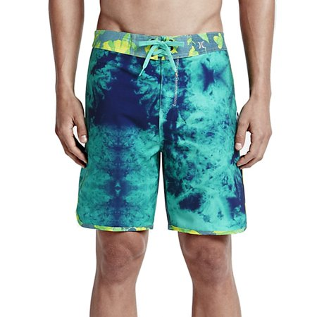 e4e78bb512 Hurley - NEW Blue Mens Size 33 Phantom Shibori Board Shorts Swimwear ...
