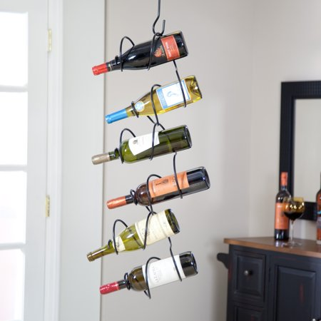 Oenophilia Climbing Tendril 6-Bottle Wine Rack