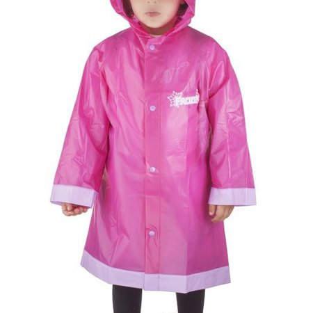 Frozen Elsa and Anna Girls Rain Raincoat- 2/3