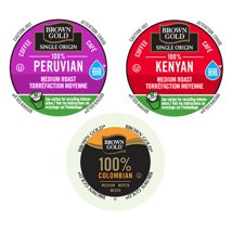 Coffee Pods: Brown Gold