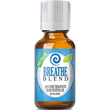 Healing Solutions - Breathe Blend Oil (30ml) 100% Pure, Best Therapeutic Grade Essential Oil - 30ml/1oz