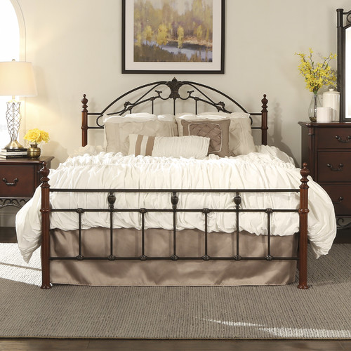 Kingstown Home Lanien Panel Bed