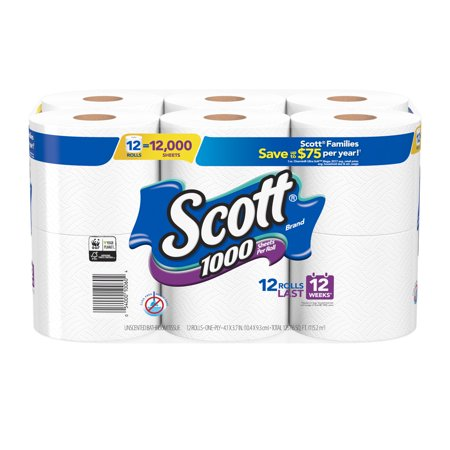 Crafts Using Toilet Paper Rolls Halloween (Scott 1000 Toilet Paper, 12 Rolls, 12,000)