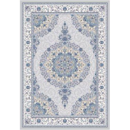 La Dole Rugs Silver Grey Gray Blue Royal Vintage