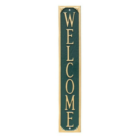 Montague Metal Products Welcome Wall Plaque