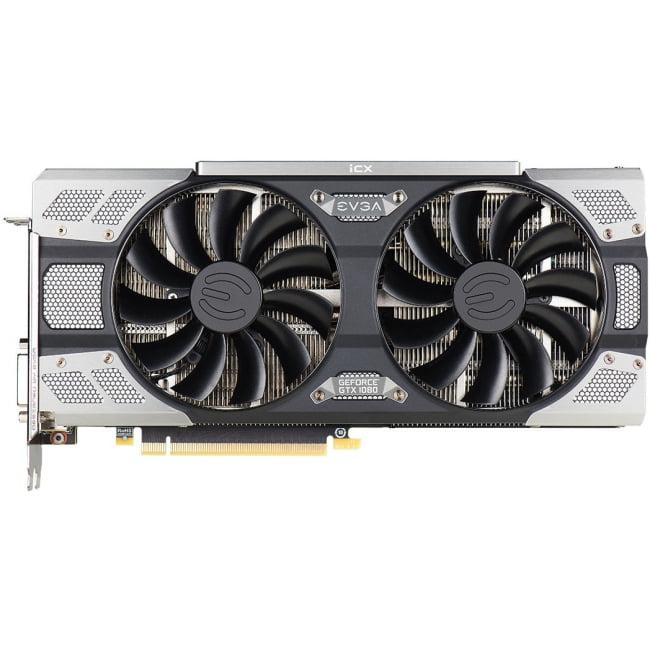 Evga Geforce Gtx 1080 Ftw2 Gaming, 08g-P4-6686-Kr, 8gb Gddr5x, Icx - 9 Thermal Sensors & Rgb Led G/P/M