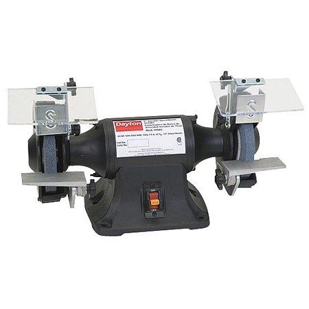 Dayton 1 3 Hp Bench Grinder 120 240 Voltage 1 Phase 3 5