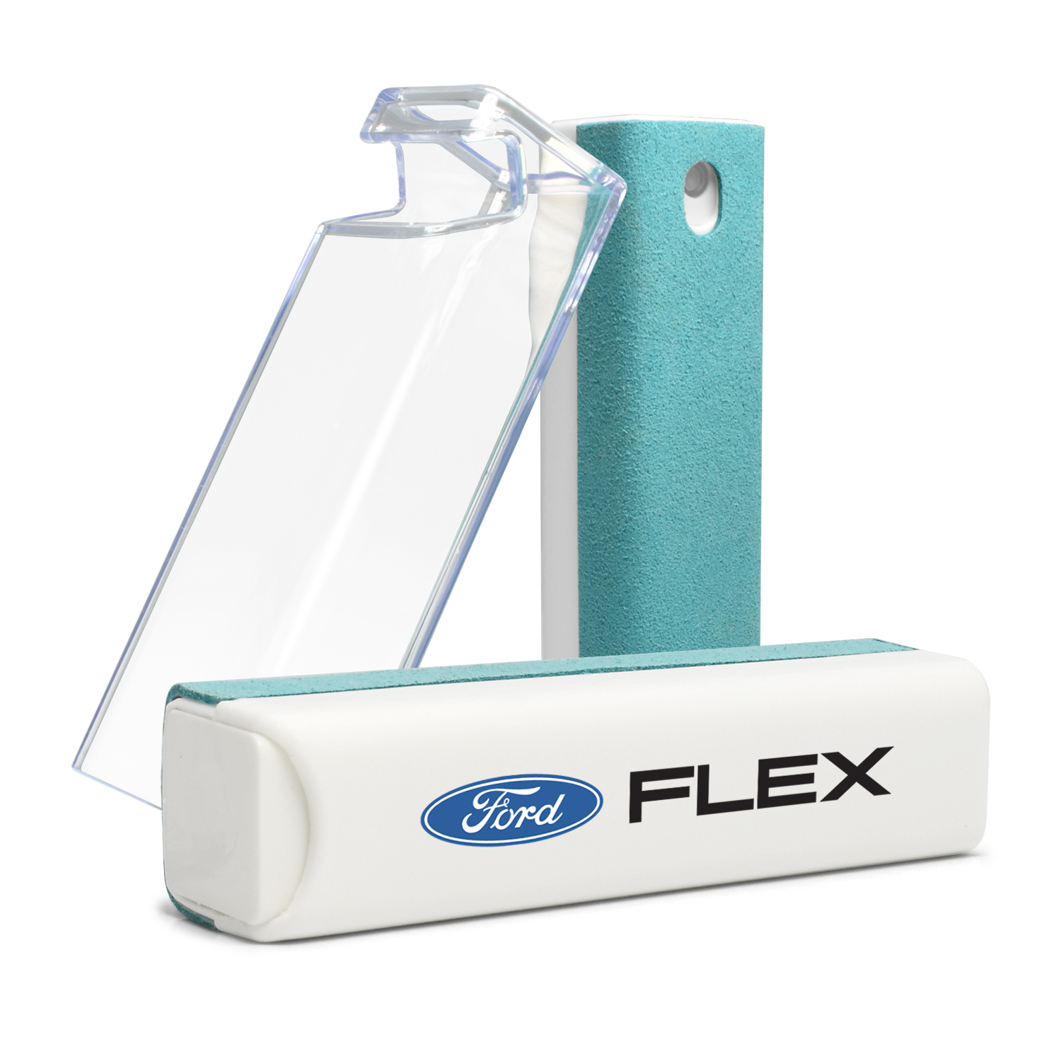 Ford Flex Blue Microfiber Screen Cleaner for Car Navigation, Cell Phone