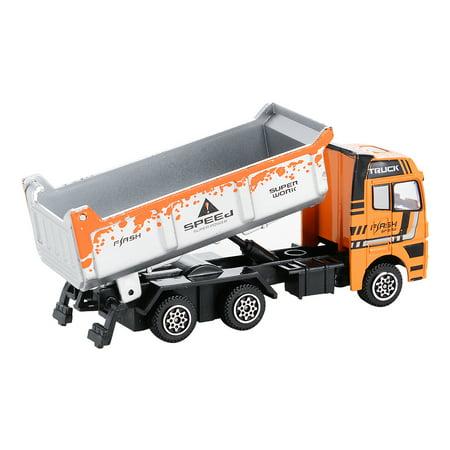 3PCS Diecast Metal Car Models Play Set Builders Construction Trucks Vehicle Playset - image 4 of 6