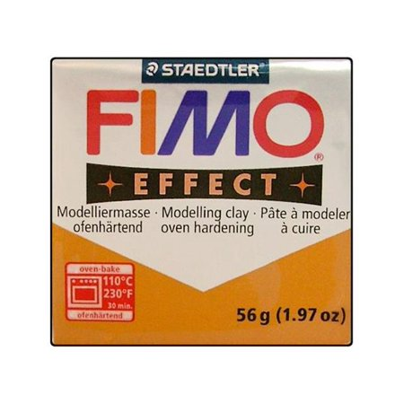 Fimo Effect Clay 56gm Metallic Gold