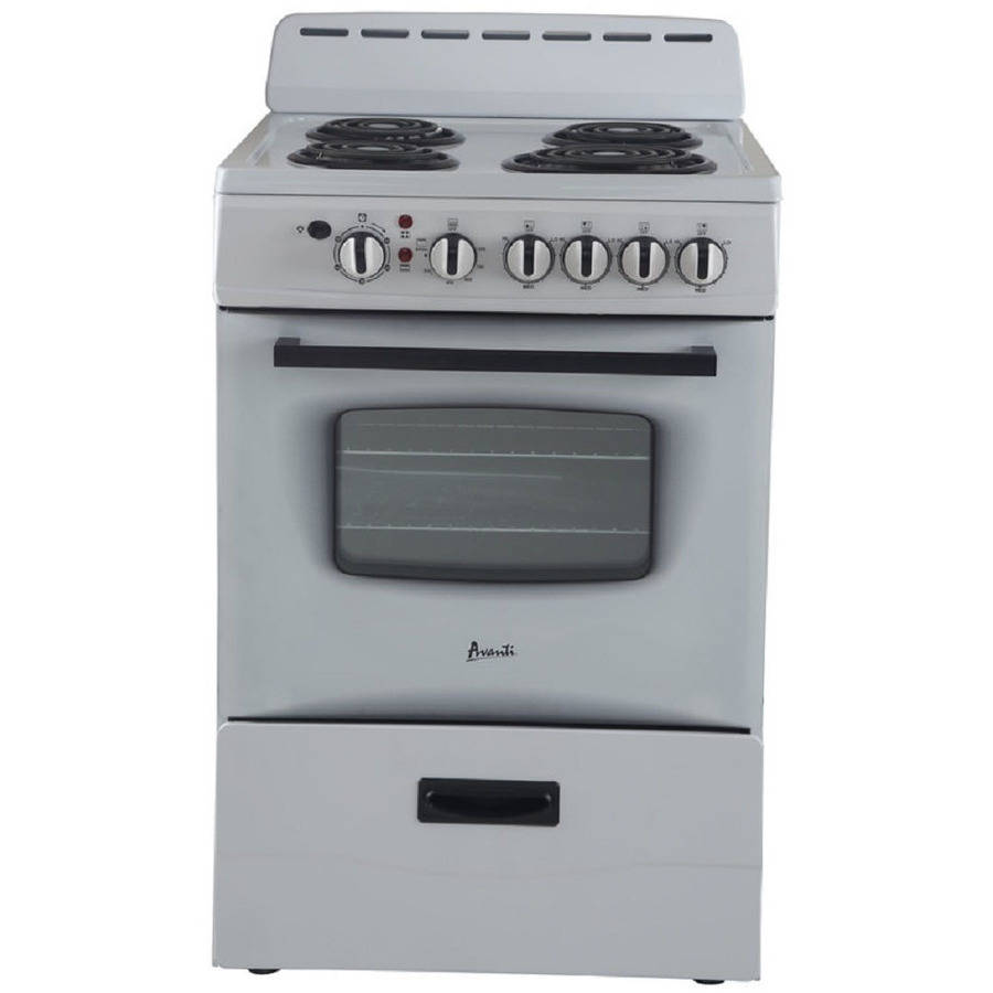 "Avanti 24"" Electric Range, Multiple Colors"