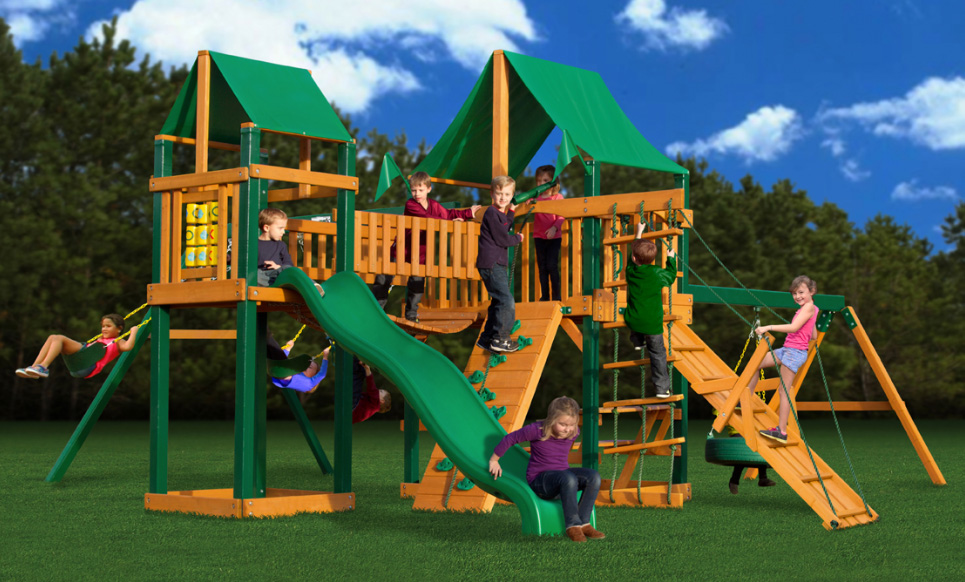 Pioneer Peak Swing Set w/ Timber Shield and Deluxe Green Vinyl Canopy  sc 1 st  Walmart & Pioneer Peak Swing Set w/ Timber Shield and Deluxe Green Vinyl ...