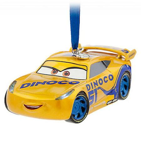 Disney Store 2017 Cars 3 Cruz Ramirez Light Up Sketchbook Ornament New with Tags (Date Halloween 2017 Disney)