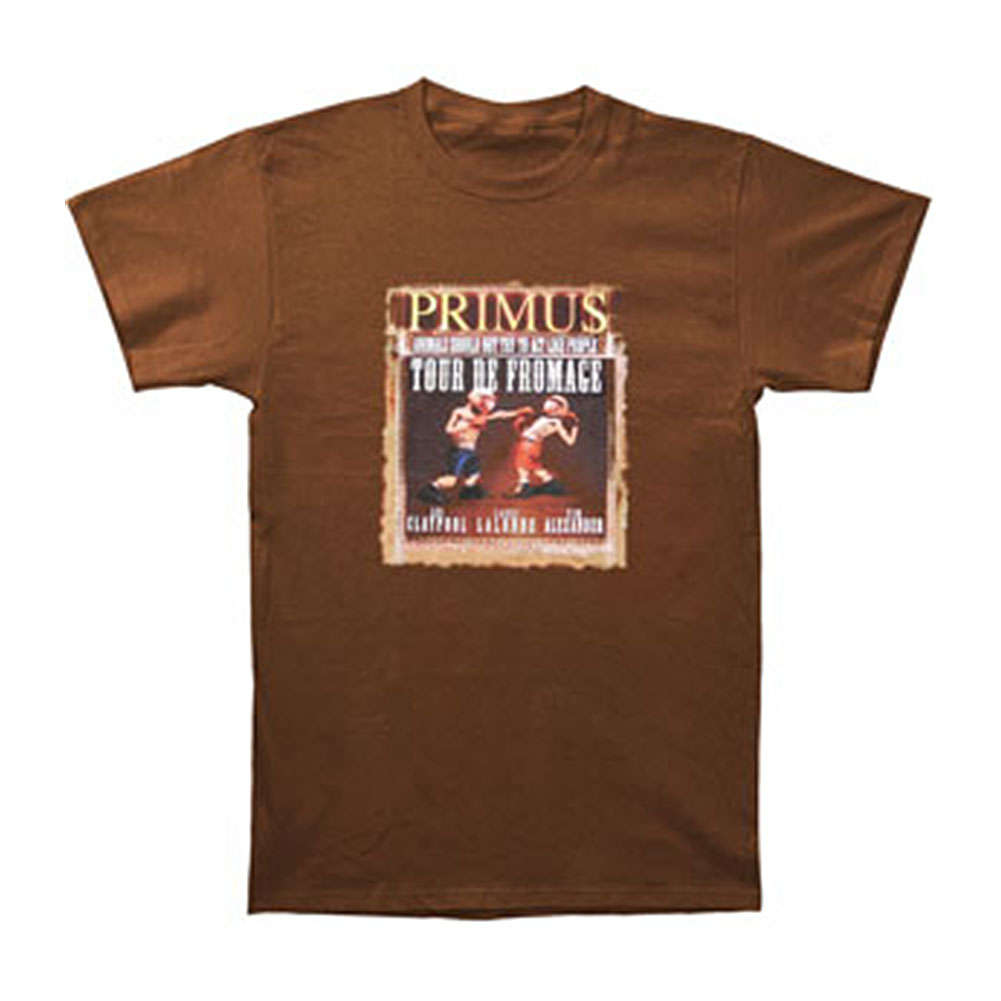 Primus Men's Boxing 03 Tour T-shirt Brown